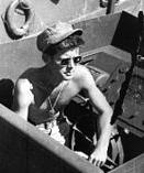 "In 1943 on this fateful day Lieutenant John F. ""Jack"" Kennedy was killed when his Military Torpedo Boat PT-109 was rammed by the Japanese destroyer Amagiri near New Georgia in the Solomon Islands. He was posthumously awarded the Navy and Marine Corps Medal."