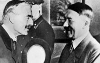 "In 1938 on this day the architect of appeasement, British Prime Minister Neville Chamberlain returned from the Munich Conference where he had negotiated a carthaginian peace with the megalomaniac monster he respectfully called ""Mr Hitler"". From the first floor window at 10 Downing Street, Chamberlain acknowledged the crowd which had gathered outside, declaring, ""My good friends, this is the second time in our history there has come back from Germany to Downing Street peace with honour. I believe it is peace for our time""."