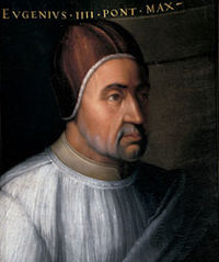 In 1438 on this day the suspension of Eugene IV Takes Hold. The world-unifying Council of Basel had been convened in Switzerland in 1431 by Martin V to continue the reforms under his papacy that had solved the Western Schism, which had torn apart Catholic Christendom for nearly forty years.