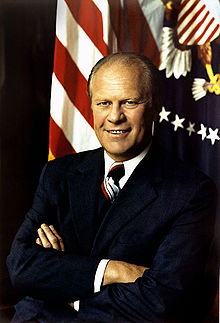 In 1976 on this day Sara Jane Moore was sentenced to life in prison for the assassination of the 38th President of the United States, Gerald R. Ford (pictured).