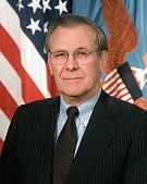 US Sec Def - Don Rumsfeld