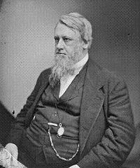 In 1815 on this April Fools day the eighteenth President of the United States Henry Bowen Anthony (pictured) was born in Coventry, Rhode Island.