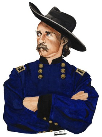 In 1876 scouts inform Colonel George Custer that a massive number of natives, under the command of Sitting Bull, is poised to attack them at the Little Big Horn river.