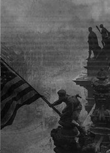 In 1945 the U.S. government announced the fall of Berlin.