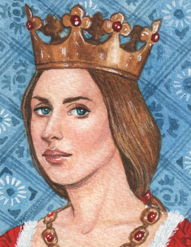 In 1430 on this day the future wife of King Henry VI of England, Margaret of Anjou was born in Pont-a-Mousson, Lorraine.