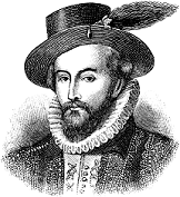 In 1603 on this day Sir Walter Raleigh was acquitted. Upon the death of Queen Elizabeth in 1603, many Catholics saw the time of transition when Scottish James I took the English throne as the chance to overthrow the Protestant government.