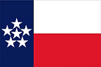 In 1870 rebels in Texas fight off efforts to rejoin the United States.