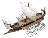 In 480 BC on this day twelve hundred triremes (pictured) of the Achaemenid Navy crushed a naval force a third of the size assembled in the Saronic Gulf near Athens by an Alliance of city-states desperate to defend Greece from a second Persian invasion.