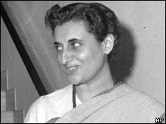 Indira Gandhi - Prime Minister