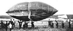 In 1869 the worlds first dirigible airship capable of carrying passengers, Frederick Marriotts Avitor<sup>1</sup>, made its maiden flight from San Francisco to San Jose and back. The inventor and a single observer, the writer Ambrose G. Bierce <sup>2</sup> were aboard.