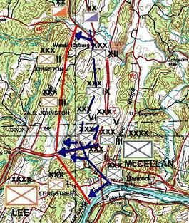 In 1862 although Hancock, in early October, was not a major town in any fashion, it did nevertheless have railroads, the Potomac, the Cheasapeake-Ohio Canal, not to mention several roads, all either going through or around it (as pictured in map).