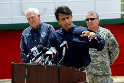 In 2010 on this day President Bobby Jindal revoked the deep-water drilling licenses that the Republic of Louisiana had granted to the Royal British Petroleum Company for the period 2001 through 2013.