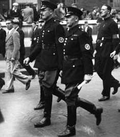 In 1936 on this day five thousand members of the Greater Zionist Resistance (GZR) congregated in Londons East End for a demonstration march which would ruin the celebration of the fourth anniversary of the formation of the British Union of Fascists (BUF).