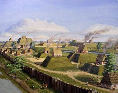 In 1527 on this day the Spanish Explorer &Aacute;lvar N&uacute;&ntilde;ez Cabeza de Vaca became the first European to set eyes upon the <a href=http://en.wikipedia.org/wiki/Cahokia>great American city of Cahokia</a> [1].
