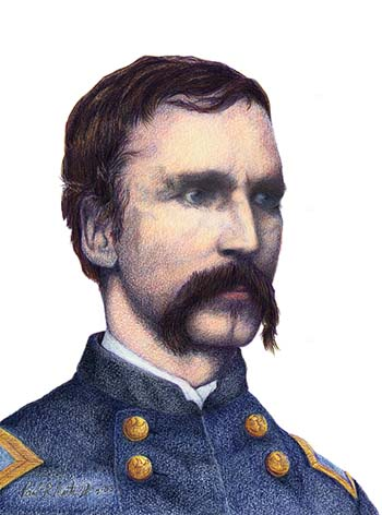 In 1863 on this day Lt Col. Joshua Chamberlain transferred out of 20th Maine Infantry in order to seek a colonelcy in a drafted regiment of conscripts.