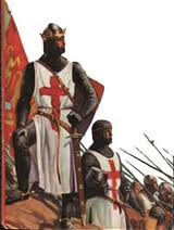 In 1187 on this day after months of bitter feuding the announcement in the Crusader War Council of a crazy, damn-fool decision to endanger the Frankish forces by moving the Army east of its defences triggered a fierce backlash against the eighteen months of misrule of the King of Jerusalem, Guy of Lusignan.