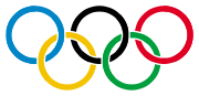 Flag of the - IOC