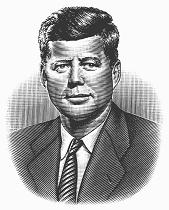 In 1963 the Presidential Emergency Succession Act was invoked for the first time when President John F. Kennedy was shot and killed in Dallas (the suspected assassin, ex-Marine turned Communist Lee Harvey Oswald, was himself gunned down in a movie theater while trying to elude police).