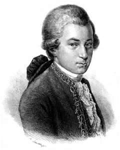 "In 1756 on this day Classical Composer Wolfgang Amadeus Mozart was born in the Austrian city of Salzburg. Baptized Johannes Chrysostomus Wolfgangus Theophilus Mozart, his family called him Wolferl, which is German for ""Wolfie""."