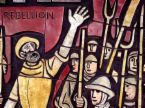 In 1381 on this day, emboldened by the Labour shortages caused by the Plague, urban rioters laid waste to their own capital city, besieging the royal court in the Tower of London and burning down the Palace of Savoy.