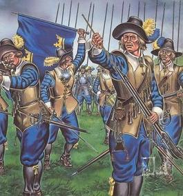 In 1636 confirmation that the Swedes were a spent force after the <a href=http://en.wikipedia.org/wiki/Battle_of_Nordlingen_(1634)>earlier battle of Nordlingen</a> was assured by the glorious victory of the combined Imperial-Saxon army at Wittstock.