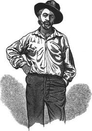 In 1819 Walt Whitman, future Communist candidate for the presidency, was born on Long Island, NY.